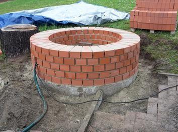 Brunnen Mauern Bauanleitung Brunnen Bauen Gartenbrunnen Garten