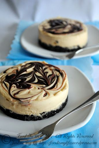 No-Bake Baileys® Cheesecake  You could make this really quick by picking up Philadelphia Premade Cheesecake in tubs and add the Baileys to it and pour into crust and refrigerate until ready to serve.