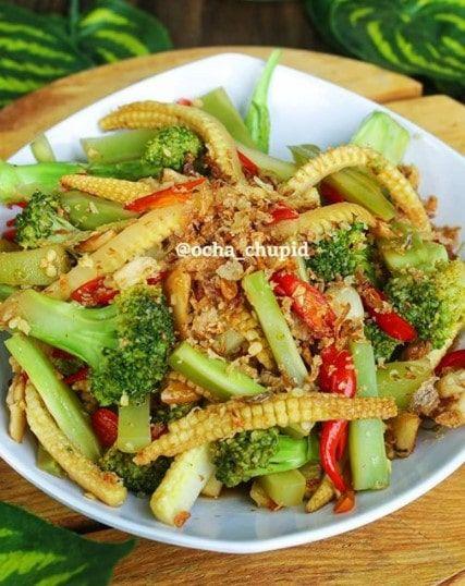 Resep Tumis Brokoli Putren Resep Resep Makanan Sehat Masakan