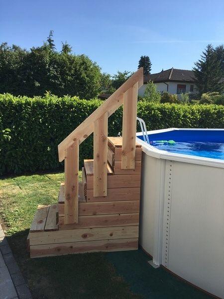 Escalier Pour Piscine Hors Sol Par Rigy Escalier Piscine