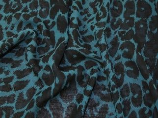 Per Metre Silk-touch Printed Chiffon Dress Fabric