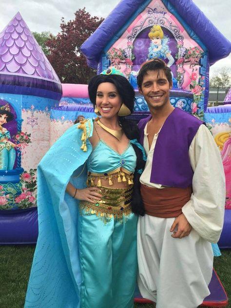 Jasmine Princess Adult Women Princess Cosplay Costume Dress | Etsy