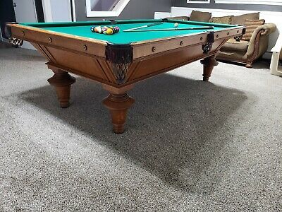 Advertisement Ebay Fully Restored Antique Narraganset Pool Table