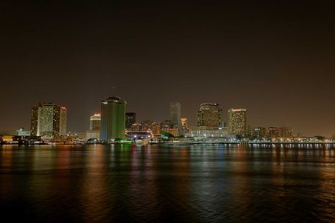 New Orleans City Night Wallpaper New Orleans Night Photos