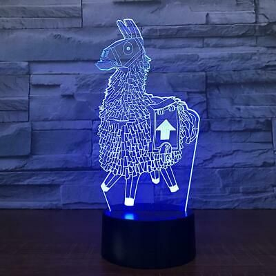 Fortnite 3d Lamp Rgb Changeable Mood Lamp 7 Color Light Led Night Light Fortnite Fortnitebattleroyale Live Mood Lamps Led Night Light Lamp