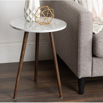 Wrought Studio Berns End Table Wayfair Perfect Bedside Table Marble End Tables End Tables