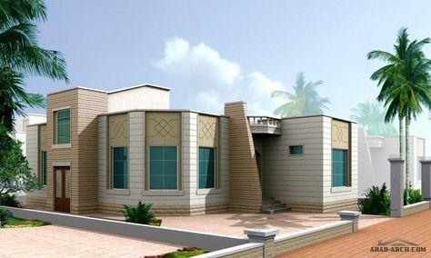 نموذج فلة دور واحــد مساحة الأرض 300 متر مربع مساحة البناء 134 متر مربع Classic House Exterior Architectural House Plans Family House Plans
