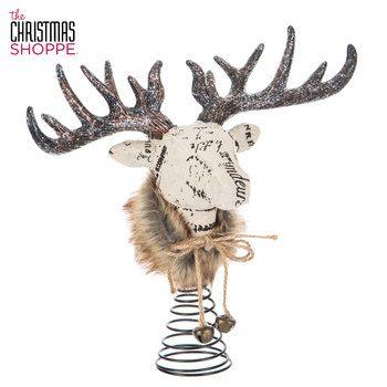 12 Hobby Lobby Deer Head Tree Topper Christmas New 2018 Picks