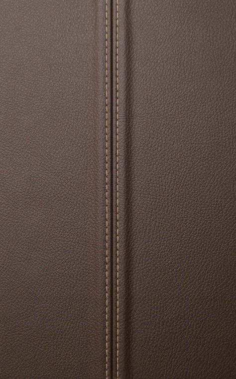 FAUX LEATHER WALL PANEL IN BROWN