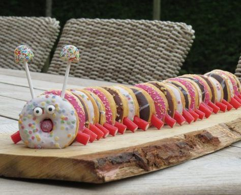 Who doesn't love donuts? Present your donuts in a original way!