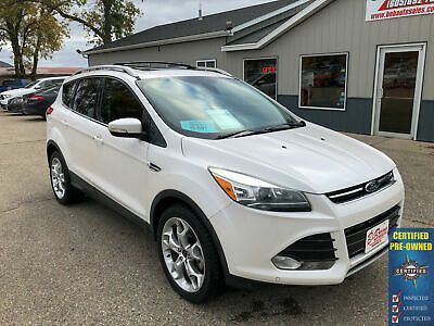 Details About 2014 Ford Escape Titanium In 2020 White Suv Ford