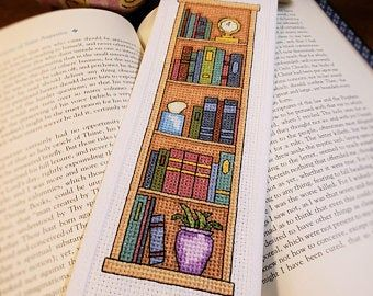 Andriana Counted Cross Stitch Kit Books for Her B-46