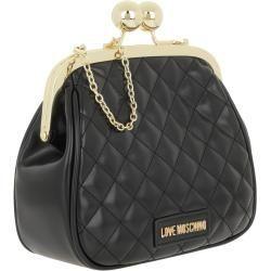 Umhangetaschen Love Moschino Chain Crossbody Bag Nero In Schwarz Umhangetasche Fur Damen Moschinomoschino Source By La In 2020 Crossbody Bag Shoulder Bag Bags