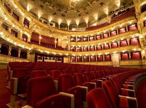 State Opera Prague Czech Republic Con Immagini Teatro