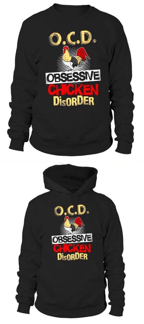 OCD Obsessive Chicken Disorder unisex jumper sweatshirt pullover