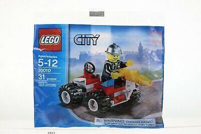 """LEGO CITY Set No.30010 /""""Fire Chief Quad/"""" BRAND NEW FACTORY SEALED POLYBAG"""