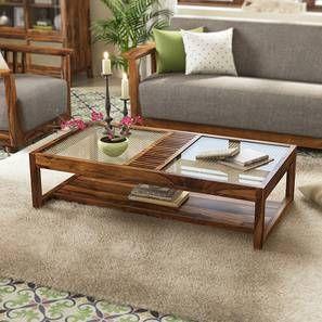 Fujiwara Coffee Table Teak Finish Coffee Table Coffee Table Design Living Room Coffee Table