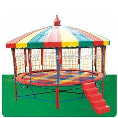 Top Quality High Large Tr&oline Tent Made In China - Buy Tr&oline TentCheap Tr&oline TentLarge Tr&oline Tent Product on Alibaba.com  sc 1 st  Pinterest & Gymnastic Trampoline Tent With Enclosure And Ladder - | Clever ...