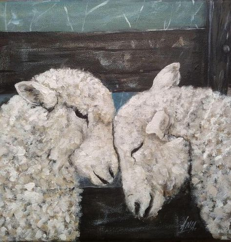 Ewes - jigsaw puzzle (49 pieces)
