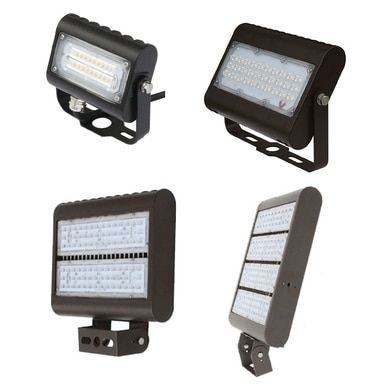 Led Outdoor Flood Light Fixtures For Area Parking And Landscape Lighting Choose Your Wattage And Mount Outdoor Flood Lights Led Outdoor Flood Lights Outdoor Flood Light Fixtures