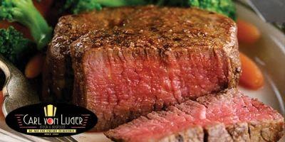 $40 Worth of Steak, Seafood & More for $20 at Carl Von Luger Steak & Seafood in Scranton