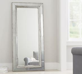 Astor Floor Standing Mirror In 2020 Antique Floor Mirror Floor