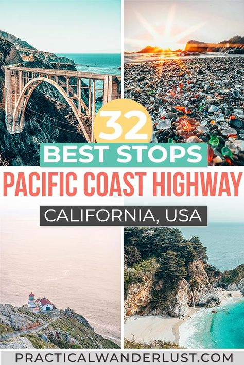Pacific Coast Highway, West Coast Road Trip, Highway Road, Road Trip Usa, Best Places To Travel, Cool Places To Visit, Places To Go, California Coast, California Travel
