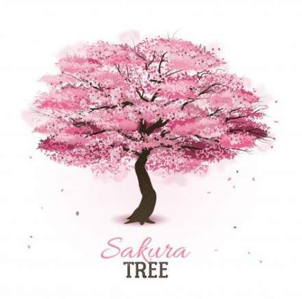 New Sakura Tree Drawing Flowers Ideas Arbre Cerisier Japonais Tatouage Cerisier Dessin Arbre