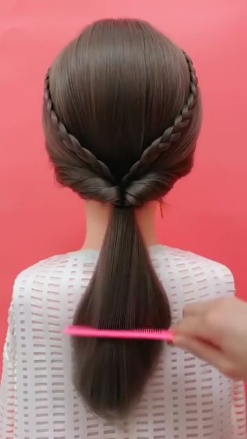 Hairstyles Videos For Long Hair For School In 2020 Short Hair Styles Easy Hair Videos Cute Hairstyles For Short Hair