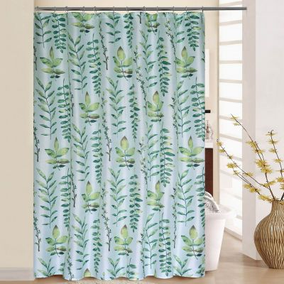 Waverly Leaf Of Faith Shower Curtain Set With Images Curtains