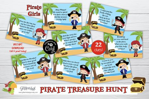 EDITABLE Pirate /& Mermaid DELUXE D.I.Y Party printables Instant Download NEW Under Sea Adventure party set Just Add Words!