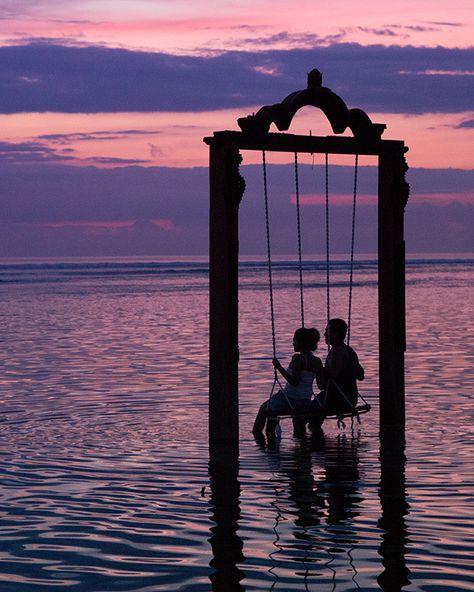 Sunset and romance, Lombok, Indonesia