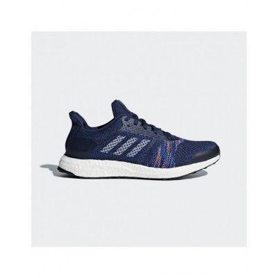 f735dde6d Men s CQ2146 Adidas Ultra Boost ST Running Shoes Blue
