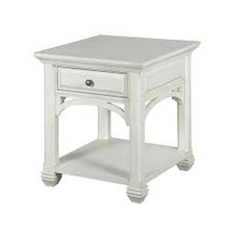Prime Hancock Park Rectangular End Table In Vintage White End Gamerscity Chair Design For Home Gamerscityorg
