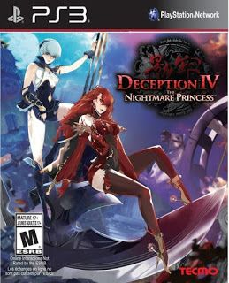 Deception IV The Nightmare Princess +DLC ps3 iso rom download