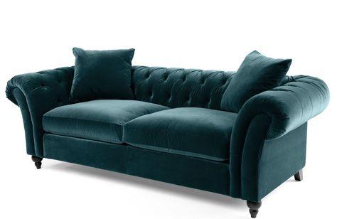 Chesterfield Sofa im Patchwork-Stil. www.kippax-sofas.de ...