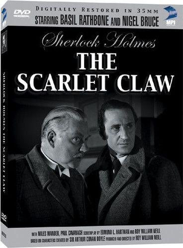 The Scarlet Claw Dvd Walmart Com Sherlock Sherlock Holmes Holmes