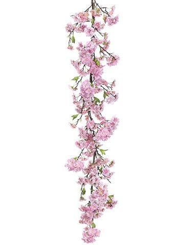 White Fake Poinsettia And Holly Flower Garland 6 Pack Of 2 Dar 30056246 1 By Afloral Cherry Blossom Flowers Holly Flower Wedding Flower Decorations