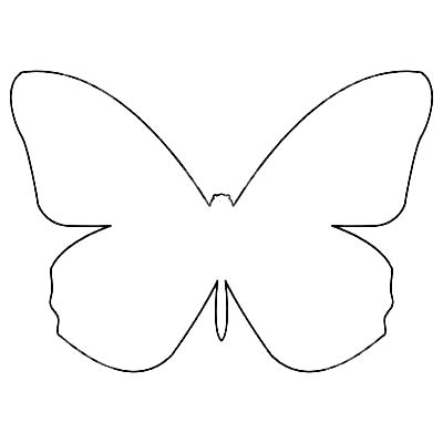 Simple Butterfly Tattoos Trick Butterfly Outline Simple Butterfly Tattoo Simple Butterfly