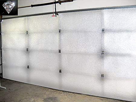 Nasa Tech White Reflective Foam Core 2 Car Garage Door Insulation Kit 16ft Wide X 8ft H Garage Door Insulation Kit Garage Door Insulation Garage Door Design