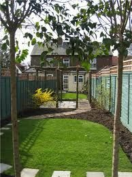 nice organic shapes and curves in along thin garden good balance between lawn beds and patio area decorating ideas pinterest organic shapes - Garden Ideas Long Narrow