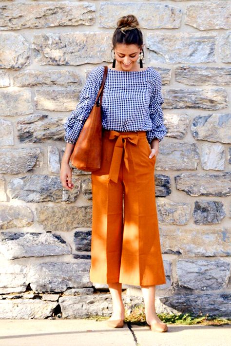 Ideas How To Wear Culottes Outfit Casual Fashion Trends