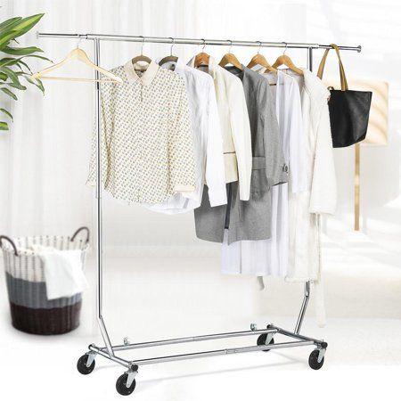 Industrial Scientific In 2020 Rolling Clothes Rack Garment Racks Hanging Storage