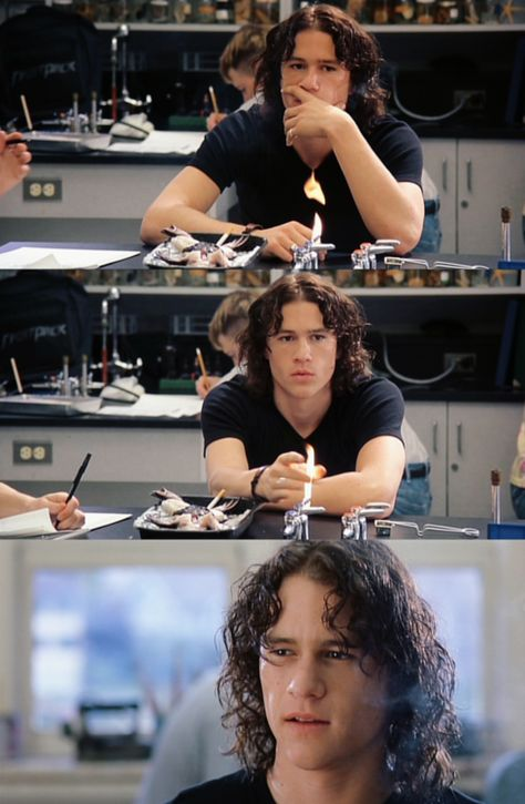 """""""Who needs affection when I have blind hatred?"""" - Patrick Verona, 10 Things I Hate About You"""