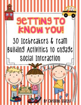 Back to School : Icebreakers & team building activities to engage social interaction