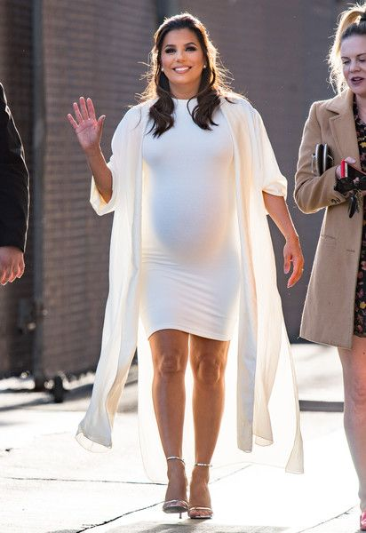Eva Longoria is seen at 'Jimmy Kimmel Live' in Los Angeles, California.