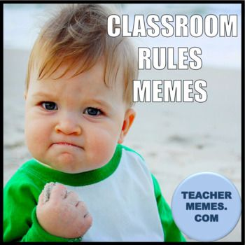 Powerpoint of over 145 Memes to use to describe your classroom rules and expectations. Great to use at the beginning of the year. Broken into 13 different topics such as student behavior, homework and tests, grades, student preparedness, and more! Engaging and fun way to connect with your