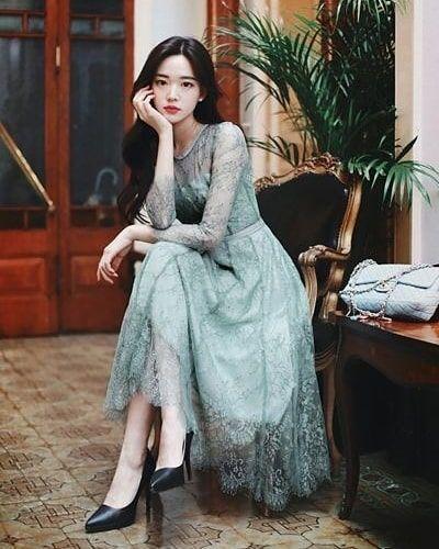 Women Classy Clothes Idea Style Christmas 2021 Sweet Korean Shopping Tiktok School Korean Fashion Dress Fashion Sketches Dresses Fashion Attire
