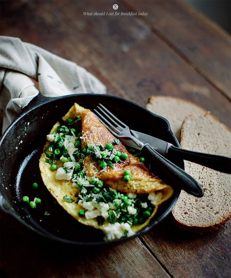 Garlicky Greens And Goat Cheese Omelette Recipes — Dishmaps