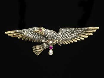 Madeleine Albright's eagle pin